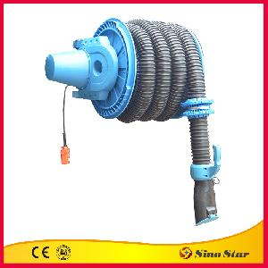 Electrical Exhaust Hose Reel