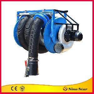 Manual Exhaust Hose Reel with motor