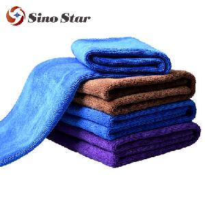 SS-WT4 60x160cm 420gm2 quick microfiber cleaning cloth for car wash