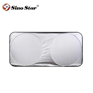 foldable laser film car front sunshade