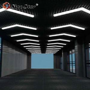 40MM 100MM 240MM 20MM 750MM High Bay Lighting and LED Low Bay Lighting