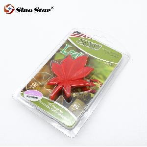 Low price Red Leaf  Car Air Freshener Perfume Sunflower Vent Clip