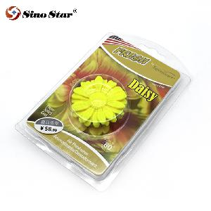 Car Air Conditioner Outlet Sun Flower Perfume Clip Solid Balm Aromatherapy Car Decoration