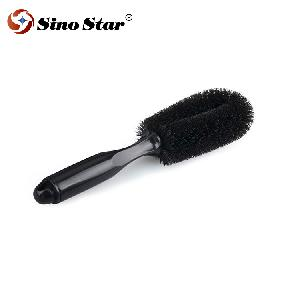 LKGJ40 Car wash tool car tyre brush special wheel hub brush cleaning supplies tool steel ring